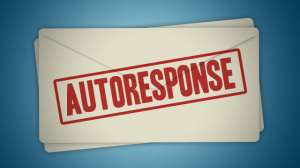 auto response