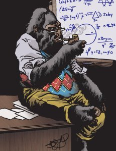 that__s_one_smart_gorilla_by_jdstanford-d3aklg1